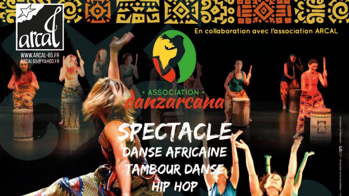 Danse africaine/tambour danse avec DANZARCANA